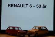 Vår første tur i regi Renault 6 - 50 års jubileum, hvilken skala dette kan være må vi bare lure på