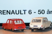 Vår første tur i regi Renault 6 - 50 års jubileum, bilene dreies igjen men ingen bakdører går opp