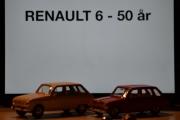 Vår første tur i regi Renault 6 - 50 års jubileum, vi overdriver når vi sier at scenen er over 1 meter bred