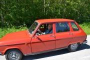Vår gamle redaktør i sin Renault 6