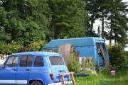Linerle og en Renault 4 og Trafic
