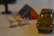 Renault 6 og Grågås (Ancer Ancer)