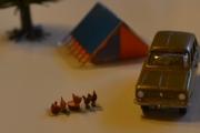 Renault 6 og Høns (Gallus Gallus Domesticus)