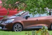 Renault Clio og en Spettmeis
