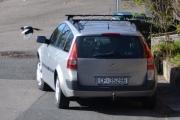 Renault Megane og en Skjære