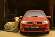 Renault og Okse se så søte, begge oser av muskler
