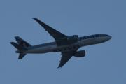 Morten 16 september 2019 - Stort fly over Høyenhall, QATAR CARGO transport fly