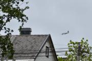 Morten 26 mai 2019 - Stort fly i lav høyde over Høyenhall