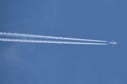 Morten 3 august 2019 - Stort jetfly over Høyenhall, nesten rett over oss