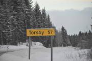 Blir nesten en times kjøretur til Torsby i denne farten
