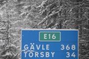 3,4 mil til Torsby nå og vi kan kjøre litt fortere