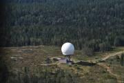 Men nå overtar jeg, vi er fremme, her ser vi radartårnet på Haukåsen