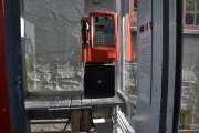 Den har det gamle telefonapparatet, men den eldste jeg har sett står nede ved Akershusstranda, Akershus Kai Nordre ved skur 28