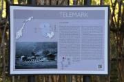 Akkurat, Telemark fylke som består av Aust-Telemark, Midt-Telemark, Vest-Telemark og Grenland