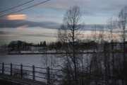Men selv om du sitter i et tog tar du bare bilde av et tog - ikke Elg