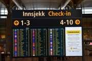 Sjekker flyet, men samtidig for jeg en påminnelse om Coronaviruset