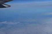 Et jetfly har passert under oss