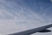 Så et jetfly over oss