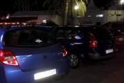 Neste blir en Renault Sport, tøft bilde på bakvindu. Er litt usikker på om bilen til høyre også er en Renault