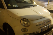 Nei og nei, dette er jo en Fiat. Men meningen var sikkert god, vi for sende dem en Renault-logo