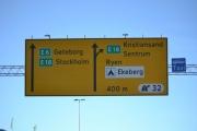 Vi kjører fra Høyenhall og er i retning Ryen