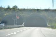 Nå går vår ferd videre mot hytta i Sandefjord, men først en tunnel igjen