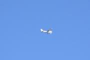 Her kommer det enda et fly over Susebukta som det heter her på hytta i Sandefjord