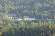 År 2016 - Retning mot Skar leir i Maridalen hvor bilde er tatt fra Gaupekollen