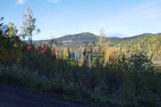 5 oktober 2018 - Bjørnsjøen og kanskje med Kikut i bakgrunnen