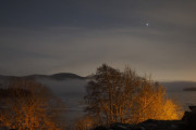 Knut 23 januar 2021 - Maridalen en lørdagskveld