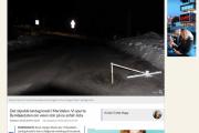 Knut i Nordre Aker igjen - Nå med veien han reparerte