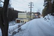 6 januar 2019 - Her ser vi Kraftstasjonen på Hammeren