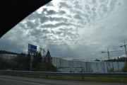 Første spennende bilde av turen ligger der hvor Akershus fylke og Skedsmo kommune begynner
