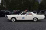 Denne politibilen har jeg sett før, har til og med film av den når han bruker taklysene. Det vi ser her folkens er, Arizonas Highway Patrol