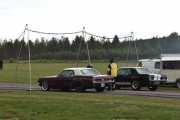 Dette er morsomt, to nye biler på start. Vi begynner alltid fra venstre så slipper jeg å skrive det hver gang. En Ford Mustang fra 1967 og en Ford Mustang fra 1968