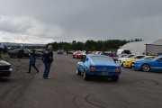 Rusler litt rundt nå, skal finne en ny posisjon. Her ser vi en Ford Mustang fra 1967, alle er jo så fine i lakken