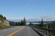 Se den utsikten, se det været og vi har nedoverbakke nesten hele veien til Raufoss