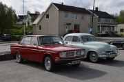 Vi tar neste bil mens vi venter, det er en Volvo 144, 1968 modell. Denne så vi over alt før og var også en typisk ungdomsbil