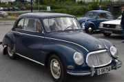 Her kommer det også en fin gammel bil, det er en DKW COUPE LIMOUSINE 2 D, 1958 modell