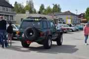 Men er denne veteran da, la oss sjekke. Ja da, Nissan Patrol 4wd, 1985 modell