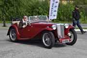 Ny bil, en MG TC fra 1949