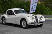 Enda en, en Jaguar XK120 Fixed Head Cou fra 1952