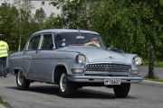 Ny bil, en Volga 1963 modell. Modell som heter Gaz?