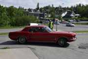 Ford Mustang, årstallet må jeg komme tilbake til senere