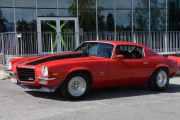 Chevrolet Camaro, 1973 modell men nå er det like før vi må gjøre oss klare til løpet