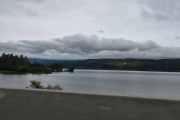 Men ferden går videre mot Lillehammer og nå har vi Mjøsa på høyre side