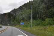 Når vi har passert Lillehammer kommer vi inn i Øyer kommune, vi ser Hunderfossen hvor vi var tidligere i sommer og var med på åpningen av Norsk Kjøretøyhistorisk Museum