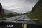 Selvfølgelig pøsregner det når vi kjører igjennom Ringebu så det er ingen vits å stoppe her