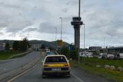 Turen til Vuddu Valley - flytårnet på Værnes flyplass tror jeg