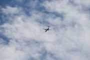 Som jeg skrev tidligere, fly er det ofte over her - blir spennende for flysiden min